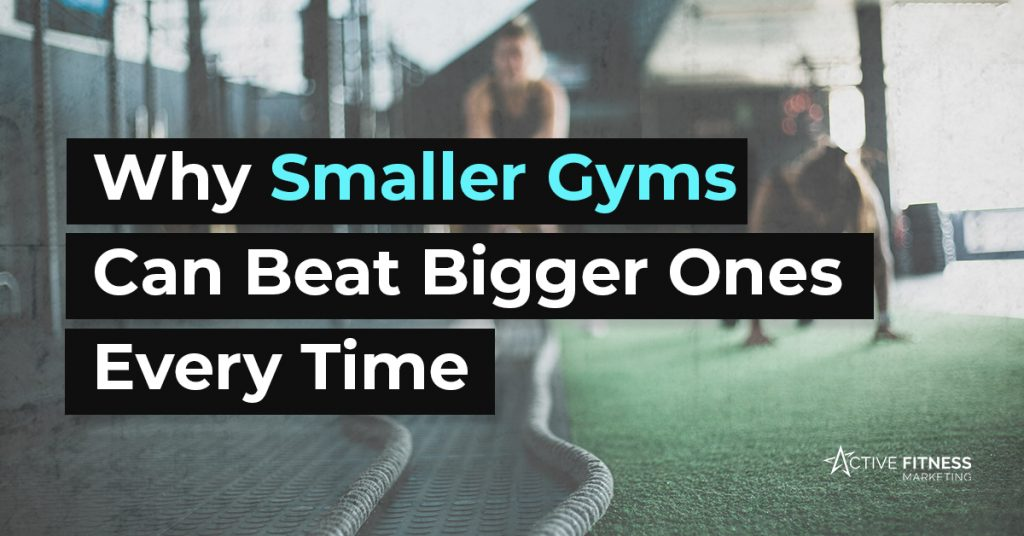 why smaller gyms can beat bigger ones
